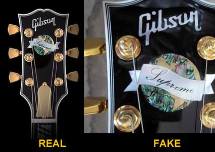 Fake Gibson Les Pauls! – PATRICK HANSEN